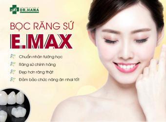 Bọc răng sứ E.max